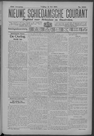 Nieuwe Schiedamsche Courant 1918-05-10
