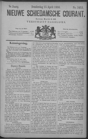 Nieuwe Schiedamsche Courant 1886-04-15