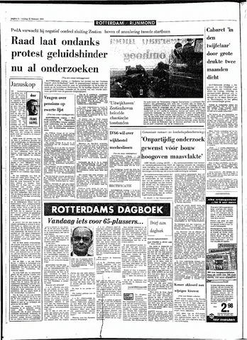 Rotterdamsch Parool / De Schiedammer 1970-02-20