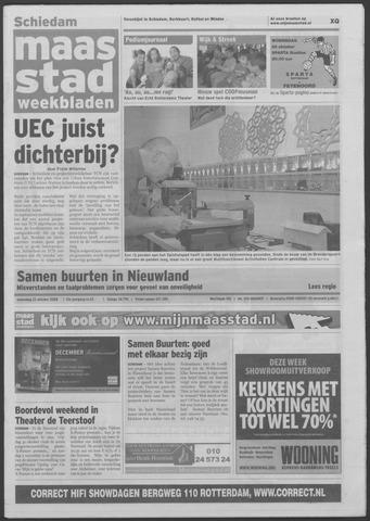 Maaspost / Maasstad / Maasstad Pers 2008-10-22