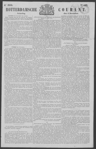 Rotterdamse Courant 1851-12-06