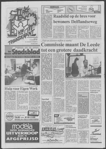Het Nieuwe Stadsblad 1991-11-08