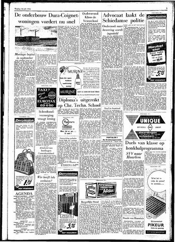 Rotterdamsch Parool / De Schiedammer 1961-07-14