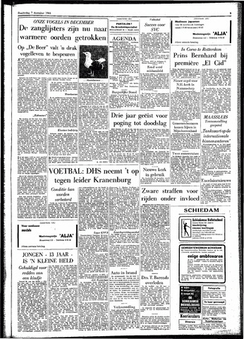 Rotterdamsch Parool / De Schiedammer 1961-12-07