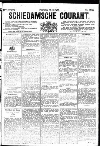 Schiedamsche Courant 1912-07-10