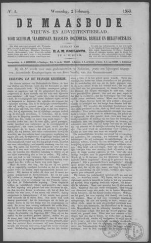 De Maasbode 1853-02-02