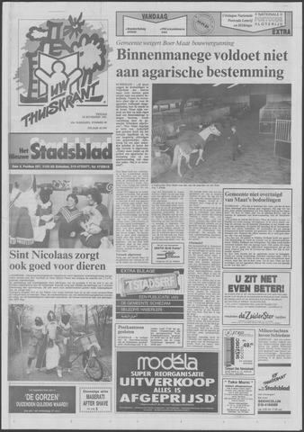 Het Nieuwe Stadsblad 1991-11-29