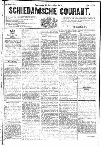 Schiedamsche Courant 1908-11-18