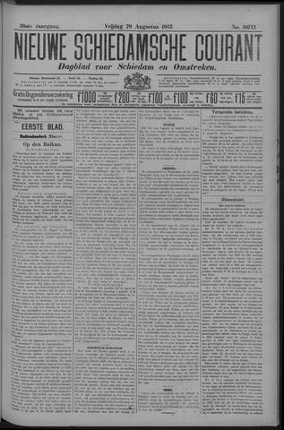 Nieuwe Schiedamsche Courant 1913-08-29