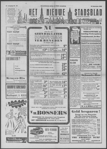 Het Nieuwe Stadsblad 1952-09-19