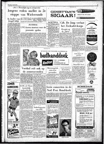 Rotterdamsch Parool / De Schiedammer 1961-06-06