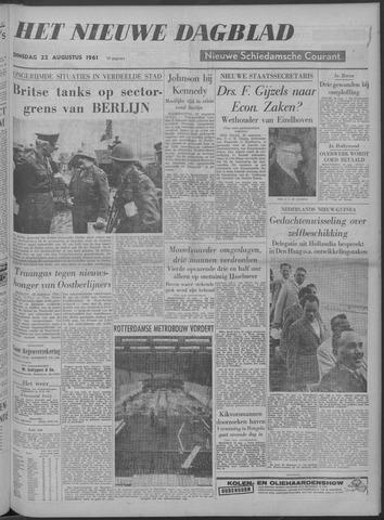 Nieuwe Schiedamsche Courant 1961-08-22