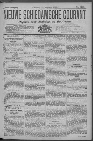 Nieuwe Schiedamsche Courant 1909-08-25