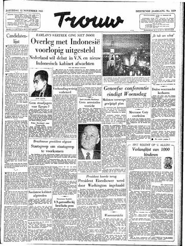 Trouw / De Rotterdammer 1955-11-12