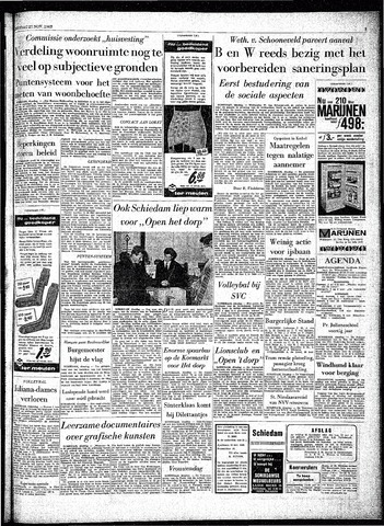 Rotterdamsch Parool / De Schiedammer 1962-11-27