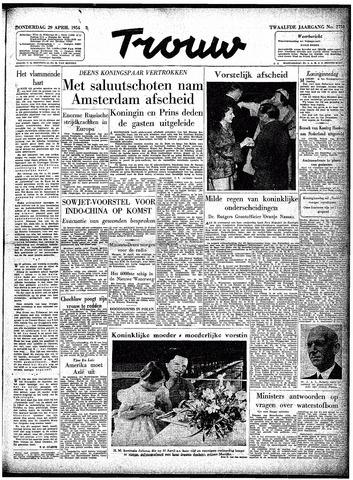 Trouw / De Rotterdammer 1954-04-29