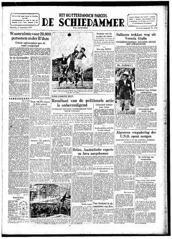 Rotterdamsch Parool / De Schiedammer 1947-09-15