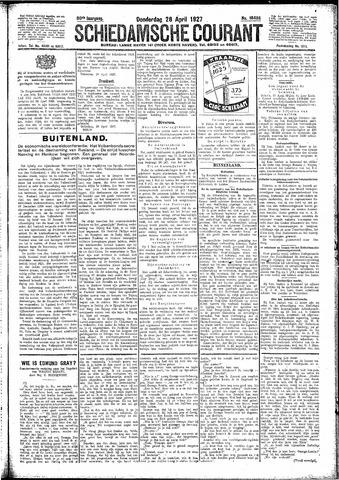 Schiedamsche Courant 1927-04-28