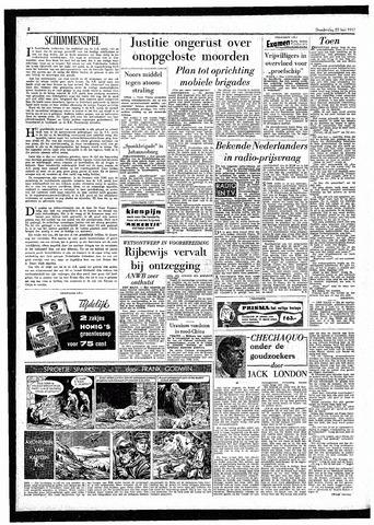 Rotterdamsch Parool / De Schiedammer 1957-05-23