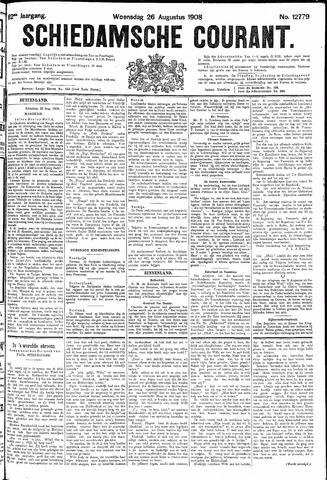 Schiedamsche Courant 1908-08-26