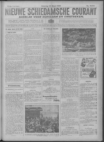 Nieuwe Schiedamsche Courant 1929-03-23