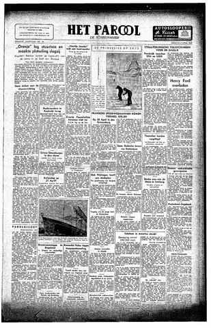 Rotterdamsch Parool / De Schiedammer 1947-04-08