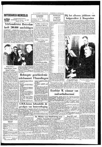 Rotterdamsch Nieuwsblad / Schiedamsche Courant / Rotterdams Dagblad / Waterweg / Algemeen Dagblad 1965-01-20