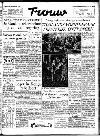Trouw / De Rotterdammer 1960-10-24