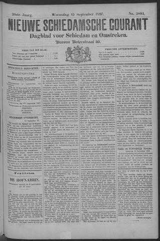 Nieuwe Schiedamsche Courant 1897-09-15