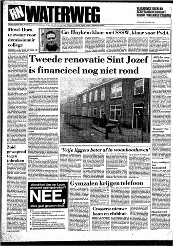 Rotterdamsch Nieuwsblad / Schiedamsche Courant / Rotterdams Dagblad / Waterweg / Algemeen Dagblad 1987-01-23