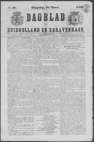 Dagblad van Zuid-Holland 1860-03-20