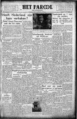 Rotterdamsch Parool / De Schiedammer 1945-11-27