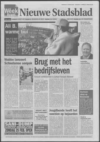 Het Nieuwe Stadsblad 2007-02-21