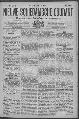 Nieuwe Schiedamsche Courant 1909-07-21