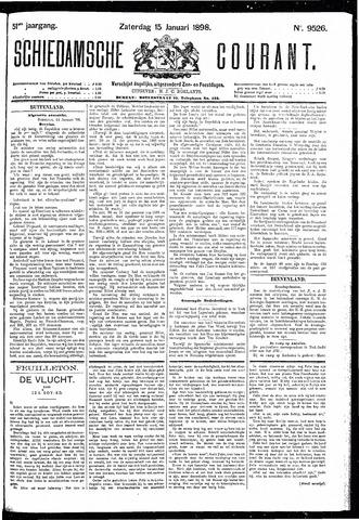 Schiedamsche Courant 1898-01-15