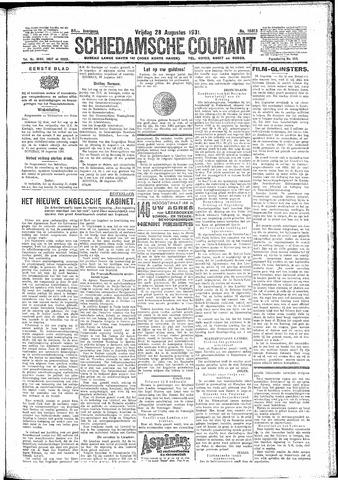 Schiedamsche Courant 1931-08-28