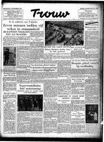 Trouw / De Rotterdammer 1953-10-05