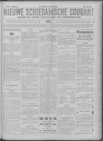Nieuwe Schiedamsche Courant 1929-06-06
