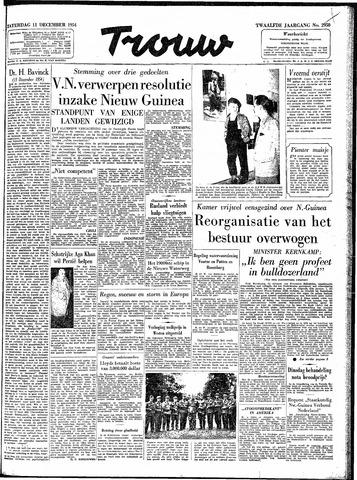 Trouw / De Rotterdammer 1954-12-11