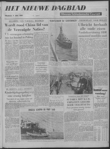 Nieuwe Schiedamsche Courant 1961-07-07