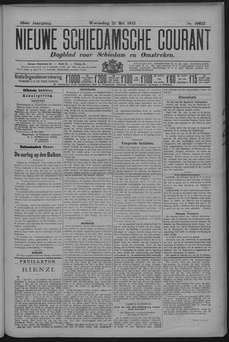 Nieuwe Schiedamsche Courant 1913-05-21