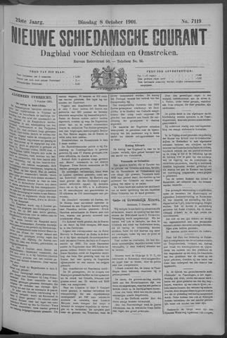 Nieuwe Schiedamsche Courant 1901-10-08