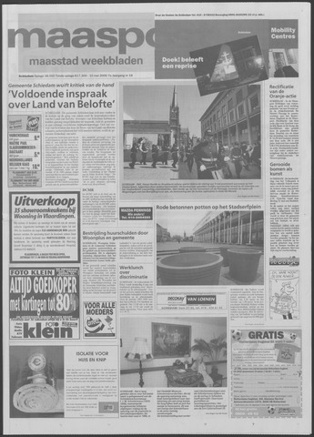 Maaspost / Maasstad / Maasstad Pers 2000-05-10