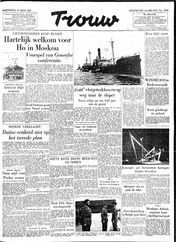 Trouw / De Rotterdammer 1955-07-13