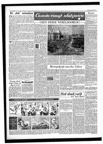 Rotterdamsch Parool / De Schiedammer 1957-07-02