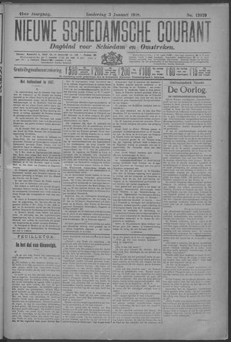 Nieuwe Schiedamsche Courant 1918-01-03