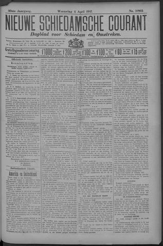 Nieuwe Schiedamsche Courant 1917-04-04