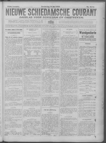 Nieuwe Schiedamsche Courant 1929-05-16