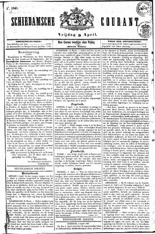 Schiedamsche Courant 1847-04-09