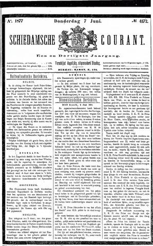 Schiedamsche Courant 1877-06-07
